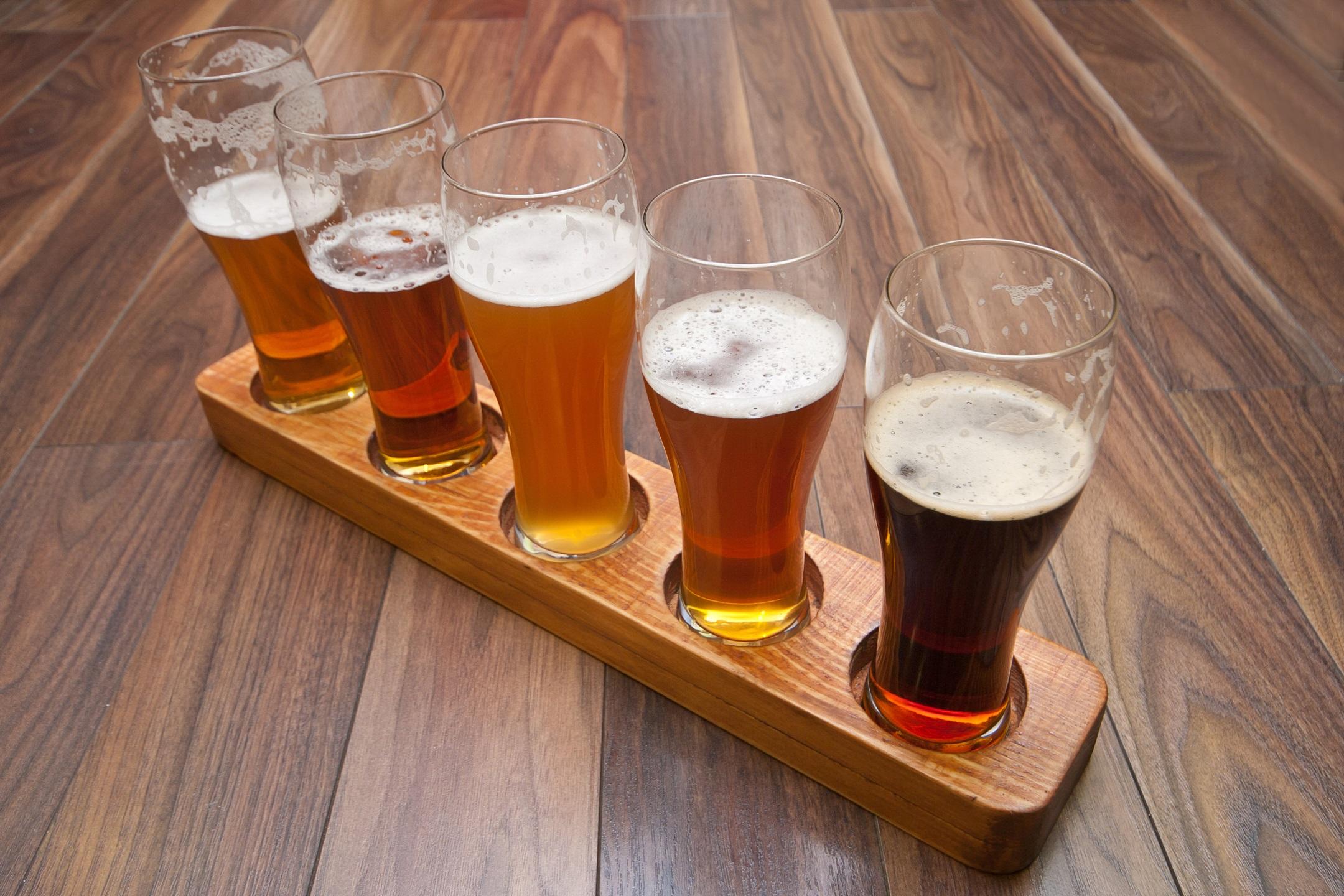 Beer Flight.